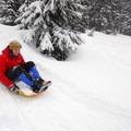 Sledding at the Dutchman Flat Sno-Park.- 15 Reasons to Visit Bend, Oregon, this Winter