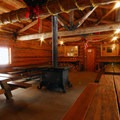 Ten Mile Sno-Park warming hut near Paulina Falls.- Best Winter Adventure Destinations