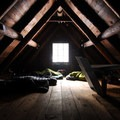 Sleeping bunk upstairs in the Tilly Jane A-Frame.- 10 Winter Huts You Should Visit