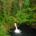 Eagle Creek Hike: Punchbowl Falls.- Oregon's 75 Best Day Hikes