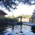 Middle Sacred Pool at Breitenbush Hot Springs.-  Hot Springs, Geysers, and Other Geothermal Activity