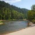 Looking south over the Sandy River from Glenn Otto Community Park.- 31 Best Beaches + Swimming Holes in-and-around Portland, Oregon