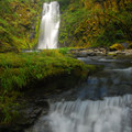 Chinook Falls on Siouxon Creek Hike.- Waterfalls on the Washington Side of the Columbia River Gorge