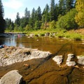Swimming hole at Washougal River Road, mile marker 4.7.- 31 Best Beaches + Swimming Holes in-and-around Portland, Oregon