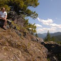Break at the Great Pyramid on the Hunchback Mountain Trail.- Exploring Oregon Watersheds: Adventure Brews