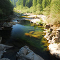 View of Washougal River just south of Dougan Falls.- 31 Best Beaches + Swimming Holes in-and-around Portland, Oregon