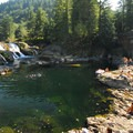 Dougan Falls on the Washougal River.- 31 Best Beaches + Swimming Holes in-and-around Portland, Oregon