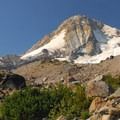 Cooper Spur Hike: Mount Hood (11,250 ft) and Eliot Glacier.- Oregon's 75 Best Day Hikes