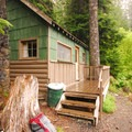 Lost Lake Resort cabins.- A Guide to Camping in Oregon