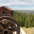 View of Mother Lode Mine looking north.- Ghost Towns of the West