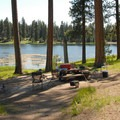 A nice open, idyllic campsite at Walton Lake Campground.- Where to Watch August's Solar Eclipse