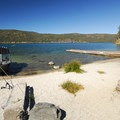 View of East Lake's south beach from the campground.- Oregon's 60 Best Lakes for Summer