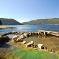 East Lake Hot Springs.-  Hot Springs, Geysers, and Other Geothermal Activity