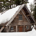 The Tilly Jane A-Frame is the prize at the end of the Cloud Cap Trail.- Great Cross-Country Ski Trails on Mount Hood
