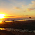 Sunset at Cannon Beach.- Sink Your Toes into Miles of Sand