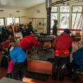 Inside the Ray Garey Cabin at Teacup Lake Sno-Park.- Best Winter Adventure Destinations