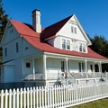Heceta Head Keeper's House, now a bed and breakfast.- A Guide to Exploring Oregon's Lighthouses