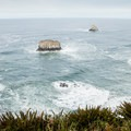 View from the wildlife observation deck at Cape Meares Lighthouse.- Iconic Lighthouses of the West Coast