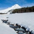 White River flowing off of Mount Hood.- Last-Minute Spring Break Ideas