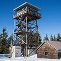 Clear Lake Butte Lookout.- Fire Lookouts of the West