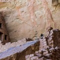 An interesting structure high up in Long House.- Mesa Verde National Park