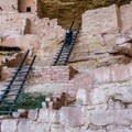 It is fun to climb up and down the ladders in this ruin (not possible in Cliff Palace).- Mesa Verde National Park