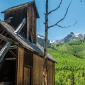 The Colorado Boy mine is part of the Red Mountain mining district.- Ghost Towns of the West