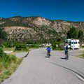 Campground roads are great for biking.- 10 Reasons to Visit the San Juan Mountains