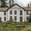 The Interlaken Lodge building was moved to save it from rising water in 1979.- Highway 82: A Sawatch Road Trip