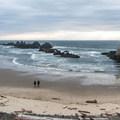 Seal Rock Beach.- Seal Rock State Recreation Site