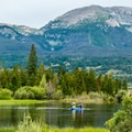 Pine Cove Campground: Playing on the lake.- Dillon Reservoir's Best Hikes, Rides + Camping
