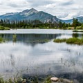 Beautiful veiws from Heaton Bay Campground.- Guide to Camping in Colorado