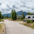 Heaton Bay Campground: Typical campground loop road.- Dillon Reservoir's Best Hikes, Rides + Camping