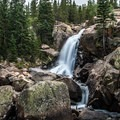 Alberta Falls.- Late Season Hiking in Rocky Mountain National Park