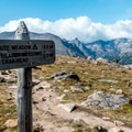 Ute Trail to Timberline Pass in Rocky Mountain National Park.- October Hike Challenge with Team Sierra