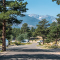 Moraine Park Campground. - Rocky Mountain National Park
