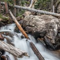 Ouzel Falls.- Late Season Hiking in Rocky Mountain National Park