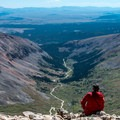 Mount Democrat: Looking back down the Kite Lake Road.- 35 Summit Views Worth Hiking For
