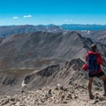 Seeing forever from the top of Mount Democrat.- 35 Summit Views Worth Hiking For