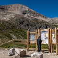 Trailhead with Mount Democrat in view.- Best Hikes in the Colorado Front Range