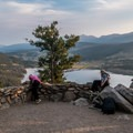 Sapphire Point Trail: Most people go no further than this first overlook.- Dillon Reservoir's Best Hikes, Rides + Camping