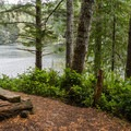 Eel Lake.- Guide to the Oregon Dunes National Recreation Area