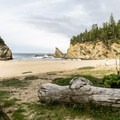 Simpson Beach.- Best Hikes on the Southern Oregon Coast