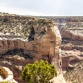 Massacre Cave overlook.- Canyon De Chelly National Monument