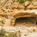 Massacre Cave.- Canyon De Chelly National Monument