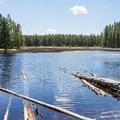 Ribbon Lake.- 15 Backcountry Hikes in Yellowstone National Park