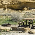 Gallo Campground in Chaco Canyon.- Exploring the Puebloan Ruins and Rock Art of Northern New Mexico