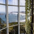 View from the Cape Blanco Lighthouse tower.- Underused Gems of the Oregon Coast