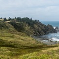 Cape Blanco Lighthouse.- Camping on the Southern Oregon Coast