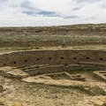 The great kiva at Chetro Ketl.- Exploring the Puebloan Ruins and Rock Art of Northern New Mexico
